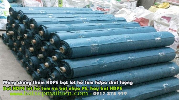 Bảng giá bán lẻ bạt HDPE lót hồ tôm ao tôm nuôi trồng thủy sản, Bạt HDPE lót hồ tôm và bạt nhựa PE, hay bạt HDPE